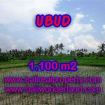 Land in Bali for sale, astounding view in Ubud Bali – TJUB376