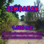 Land for sale in Bali, exotic view in Jimbaran Ungasan Bali – TJJI075