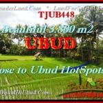 FOR SALE Exotic LAND IN Sentral Ubud TJUB448