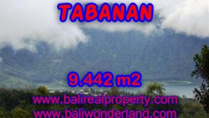 Spectacular Land for sale in Bali, Mountain and lake view in Tabanan Bali – TJTB081